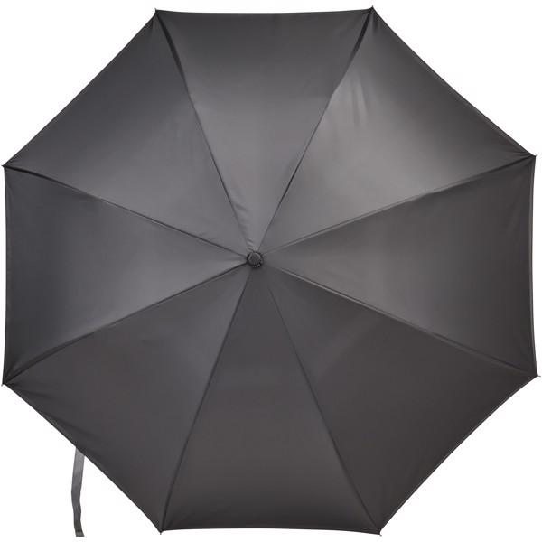 """Lima 23"""" Wende-Regenschirm - grau / schwarz"""