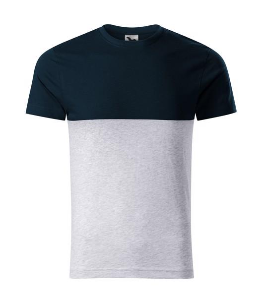 Tričko unisex Malfini Connection - Námořní Modrá / 3XL
