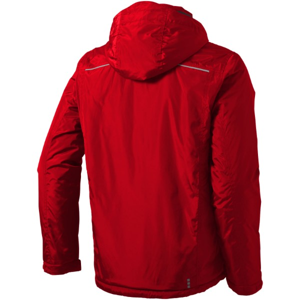 Smithers fleece lined jacket - Red / XS