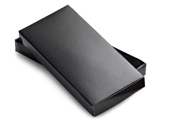 CLOVE. Klíčenka z kovu a PVC - Černá