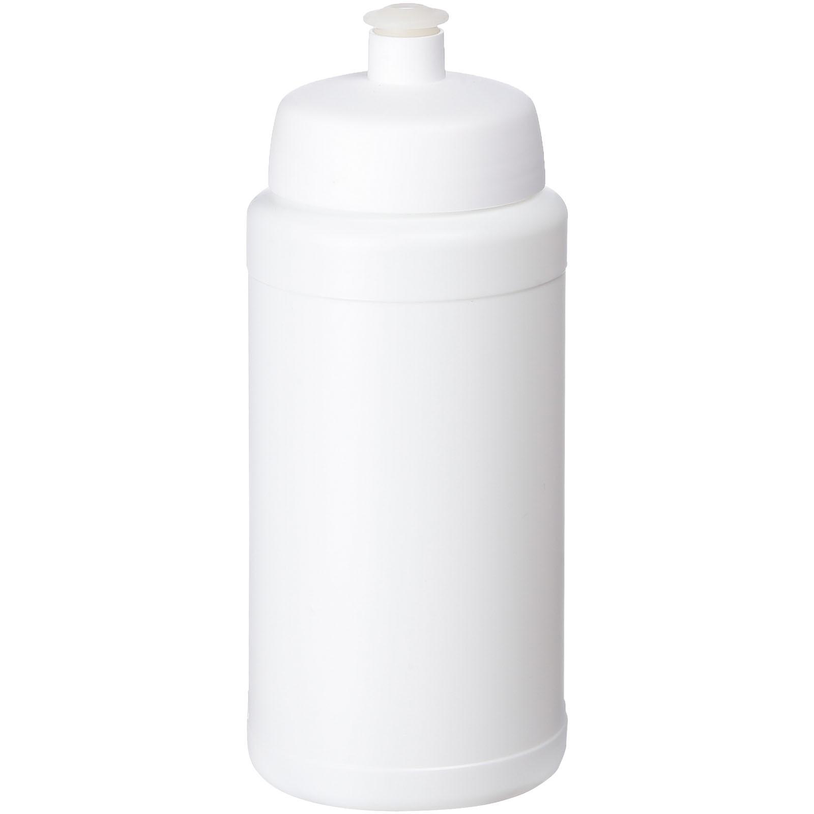 Baseline® Plus 500 ml lahev se sportovním víčkem - Bílá