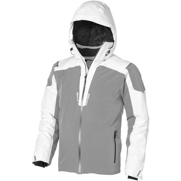 Ozark insulated jacket - White / Grey / XXL