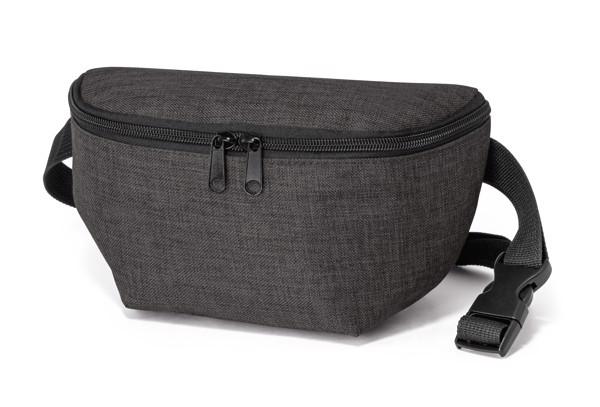 APRIL. Waist pouch in 600D - Dark Grey