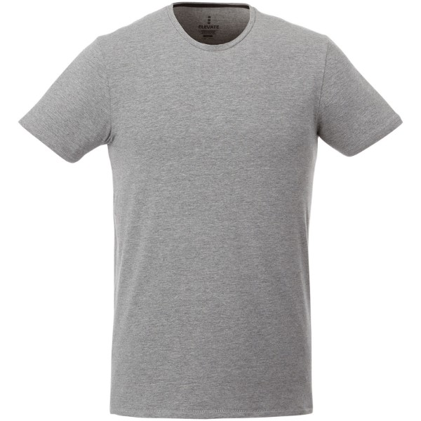 Balfour short sleeve men's GOTS organic t-shirt - Grey melange / L