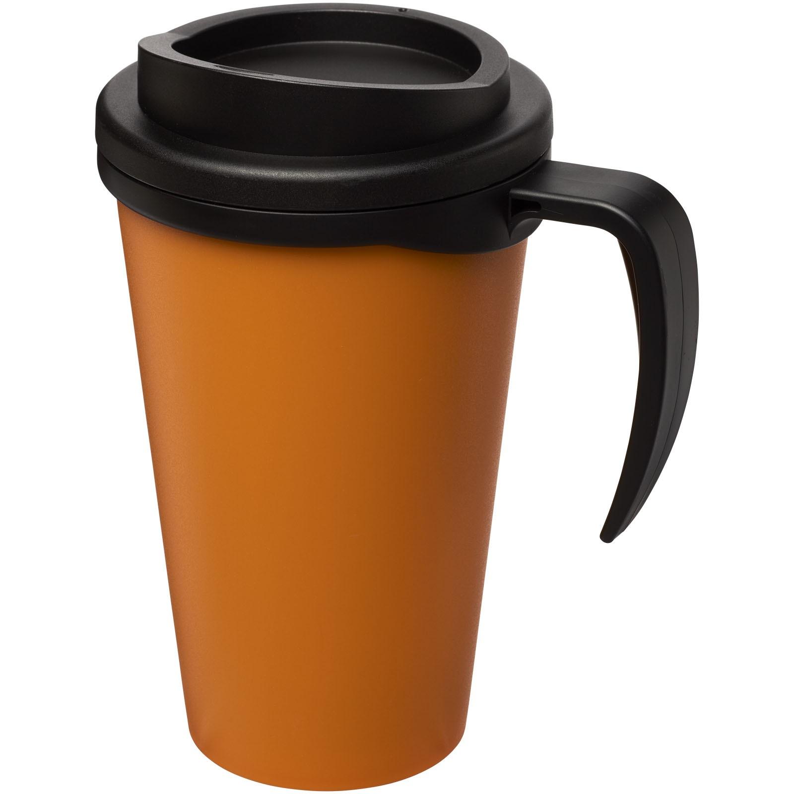 Termo hrnek Americano® grande 350 ml - 0ranžová / Černá