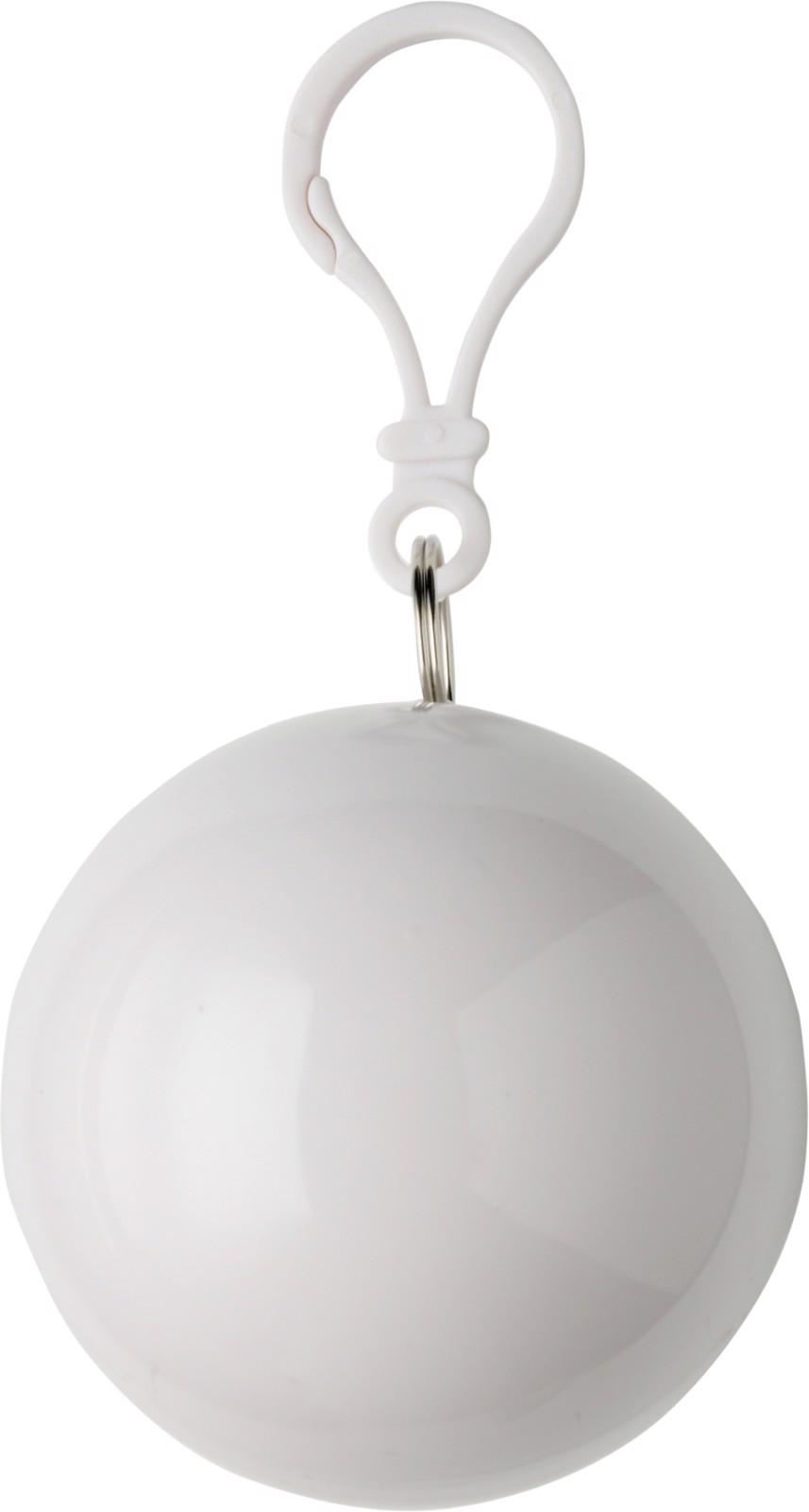 PVC poncho - White