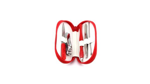 Set Manicura Beluchi - Rojo