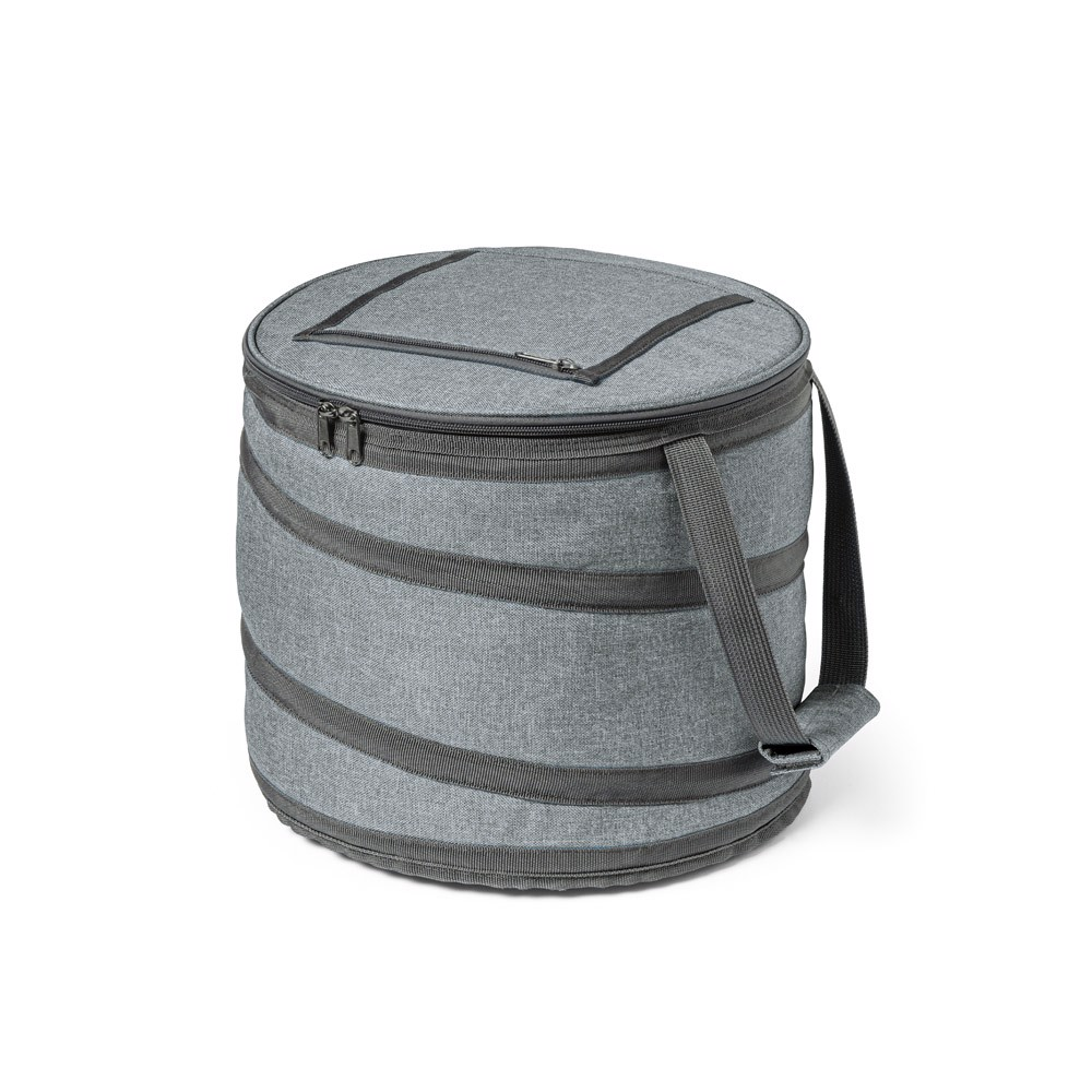 COAST. Foldable cooler bag 15 L - Grey