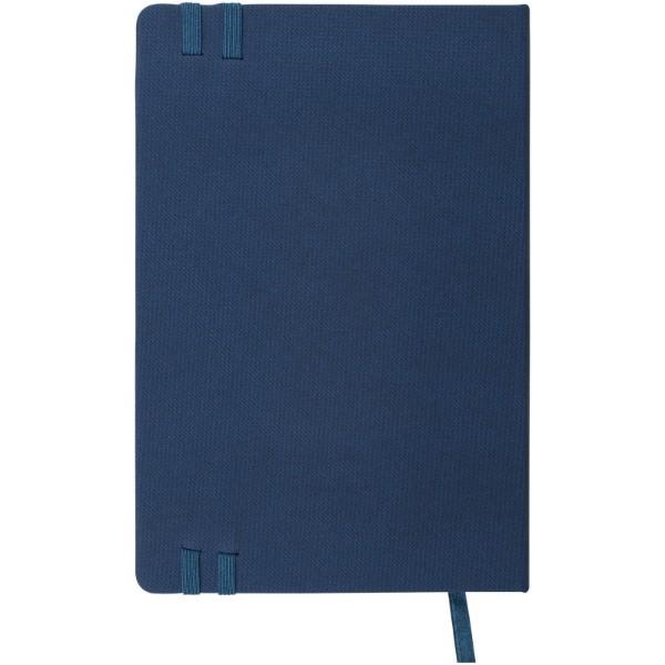 Barevný zápisník s pevnou obálkou A5 Denim - Modrá
