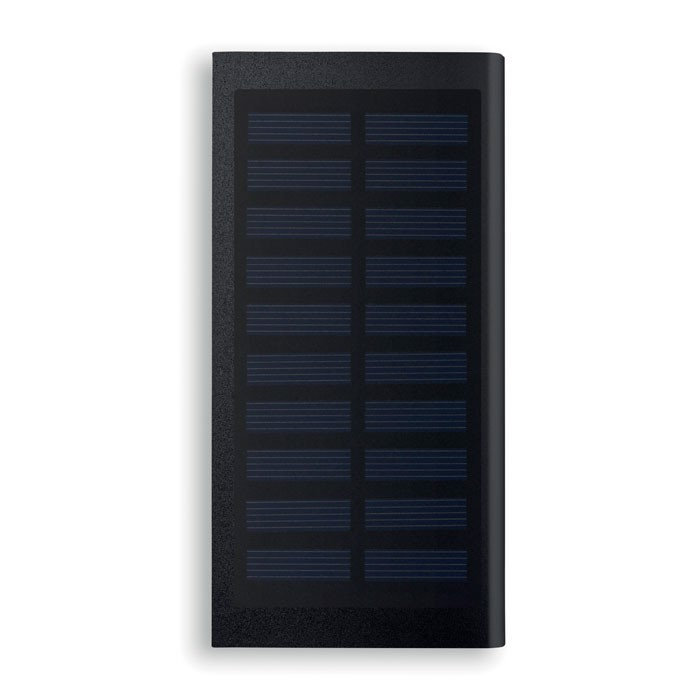 Solar power bank 8000 mAh Solar Powerflat - Black