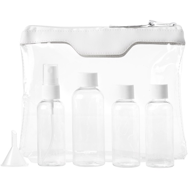 Munich airline approved travel bottle set - White