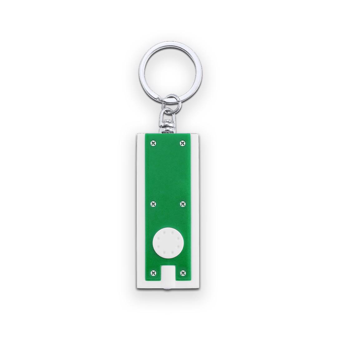 Llavero Linterna Shika - Blanco / Verde