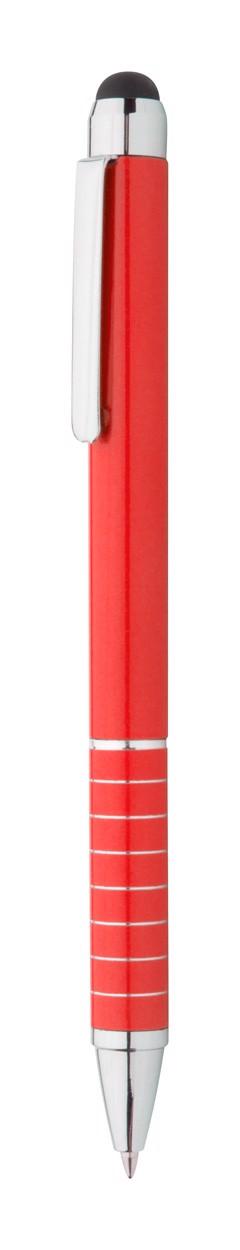Dotykové Kuličkové Pero Minox - Červená