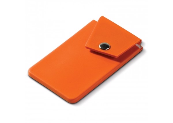 Cardholder smartphone button - Orange