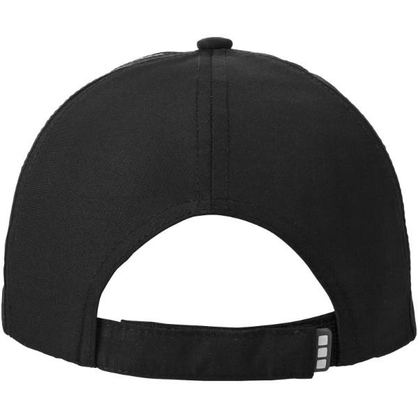 Momentum 6-panel cool fit sandwich cap - Solid black