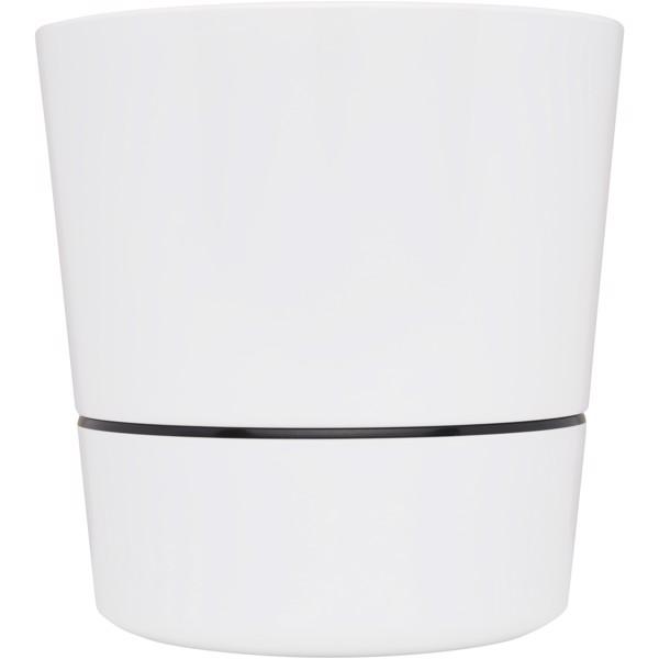Herbs single kitchen pot - White
