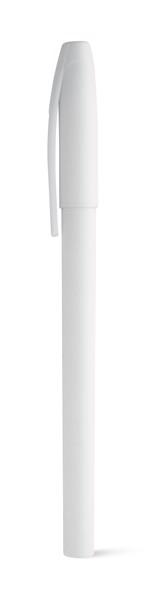 MILU. Kuličkové pero z PP - Bílá