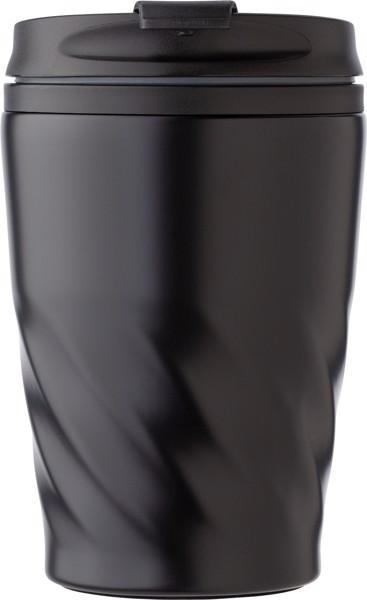PP and stainless steel mug - Black