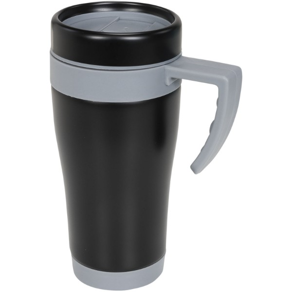 Cayo 400 ml insulated mug - Grey