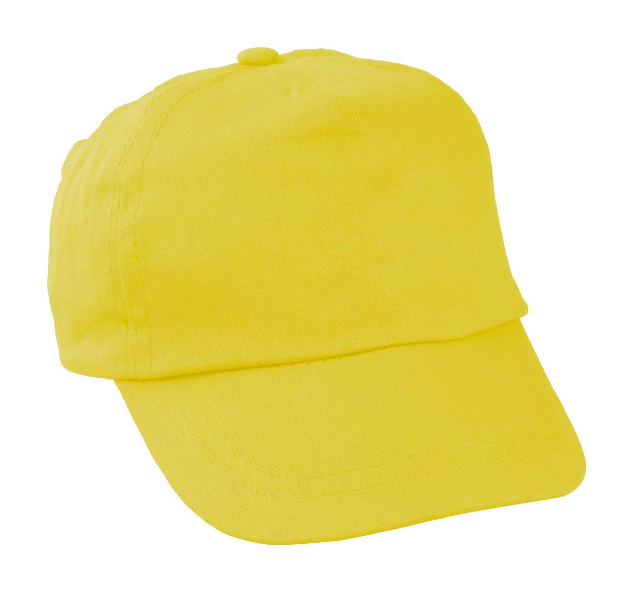 Dětská Čepice Sportkid - Žlutá