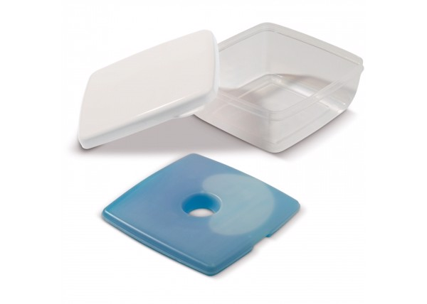 Lunchbox with cooler 750ml - White