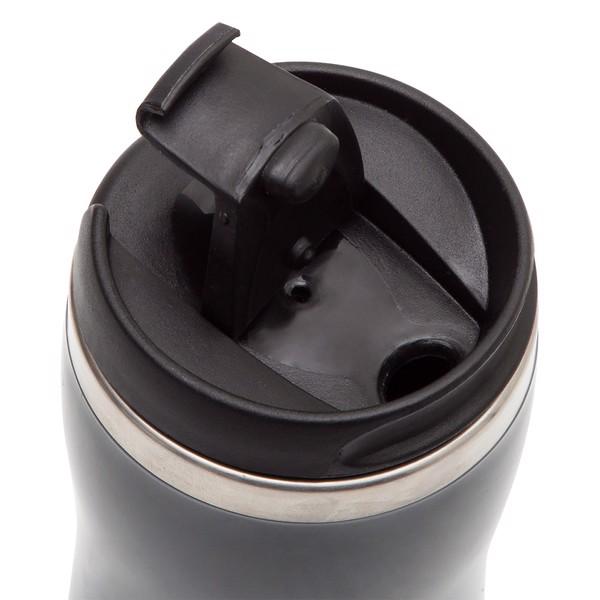 Kubek izotermiczny Skien 350 ml - Szary