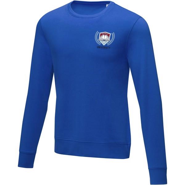 Zenon men's crewneck sweater - Blue / XL