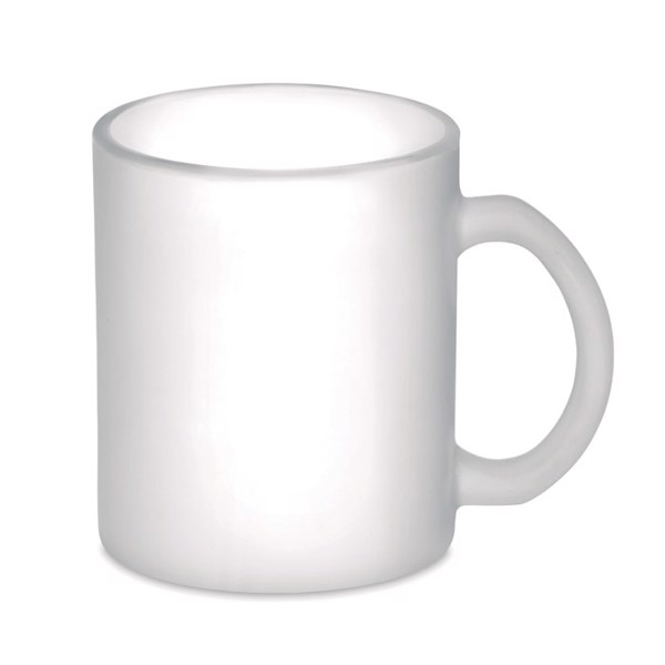 Kaffeebecher aus Glas 300 ml Sublimatt