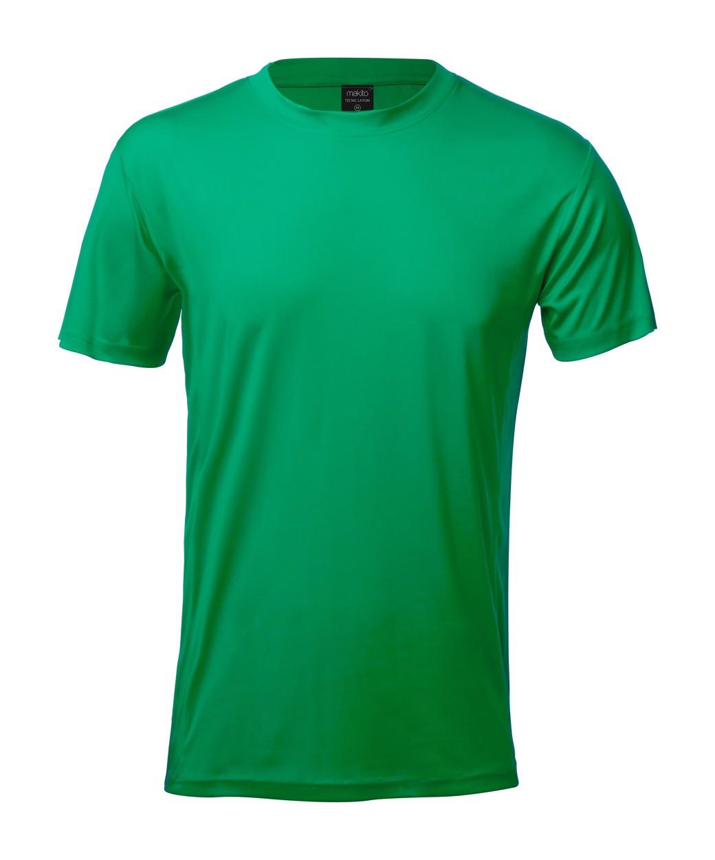 Sportovní Tričko Tecnic Layom - Zelená / S