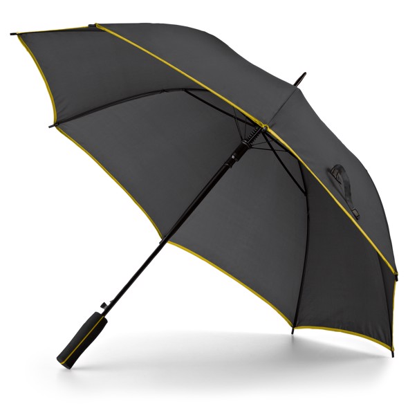 JENNA. Ομπρέλα με αυτόματο άνοιγμα - Κίτρινο