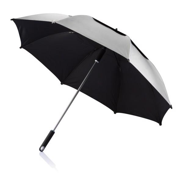 """27"""" odolný deštník Hurricane - Šedá"""