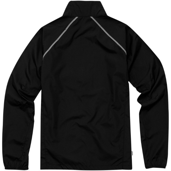 Egmont packable jacket - Solid black / M