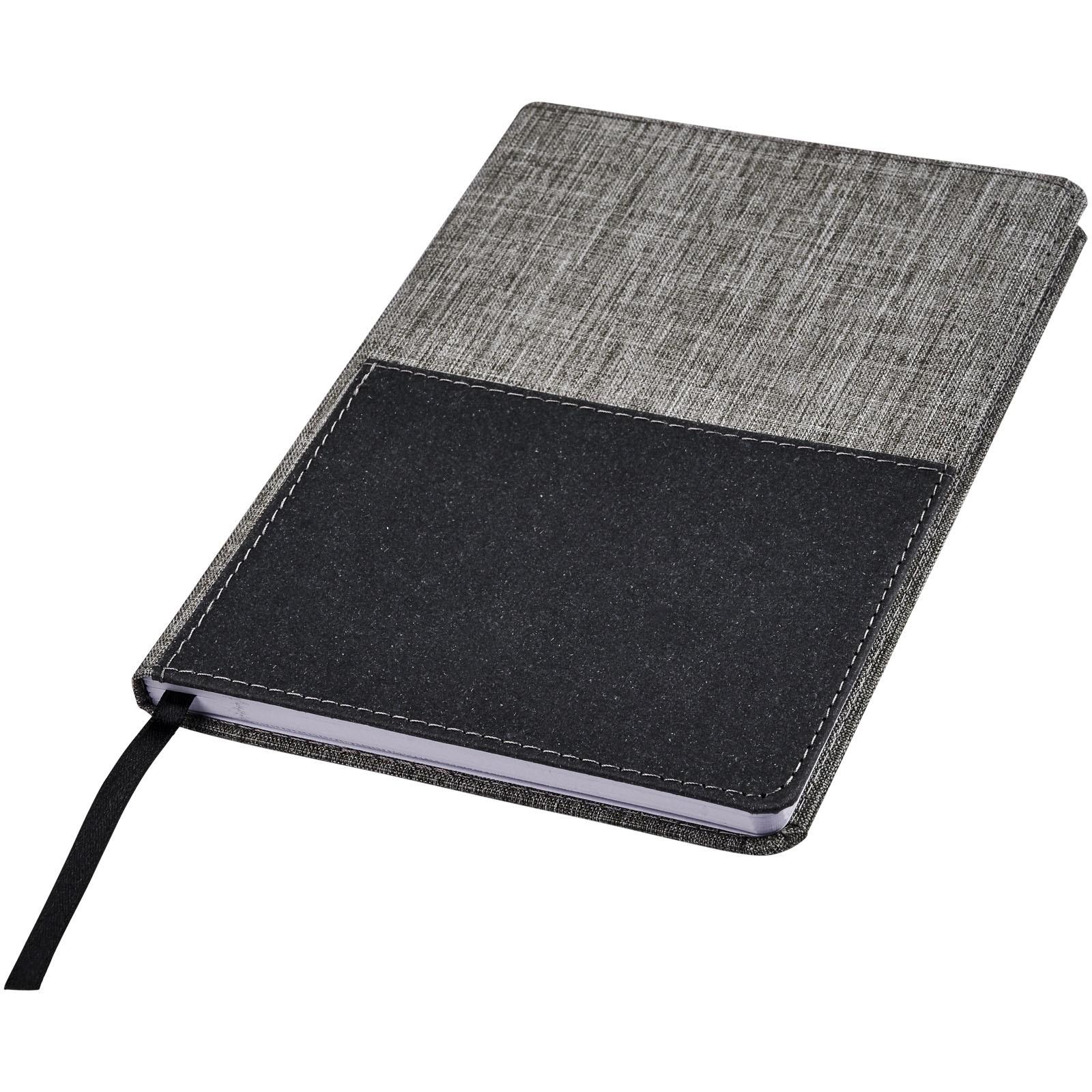 Mera RPET A5 zápisník na poznámky s přední kapsou