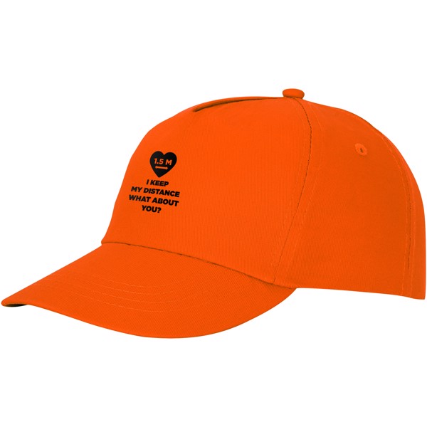 Feniks 5 panel cap - Orange