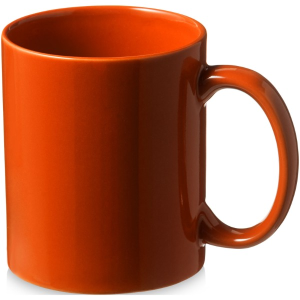 Santos 330 ml ceramic mug - Orange