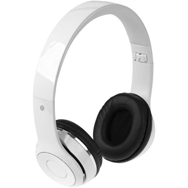 Cadence foldable Bluetooth® headphones - White