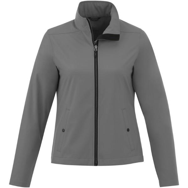 Karmine women's softshell jacket - Steel Grey / M