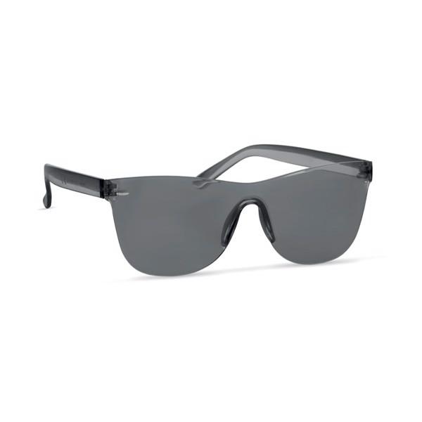 Sunglasses PC rimless lens Cos - Transparent Grey