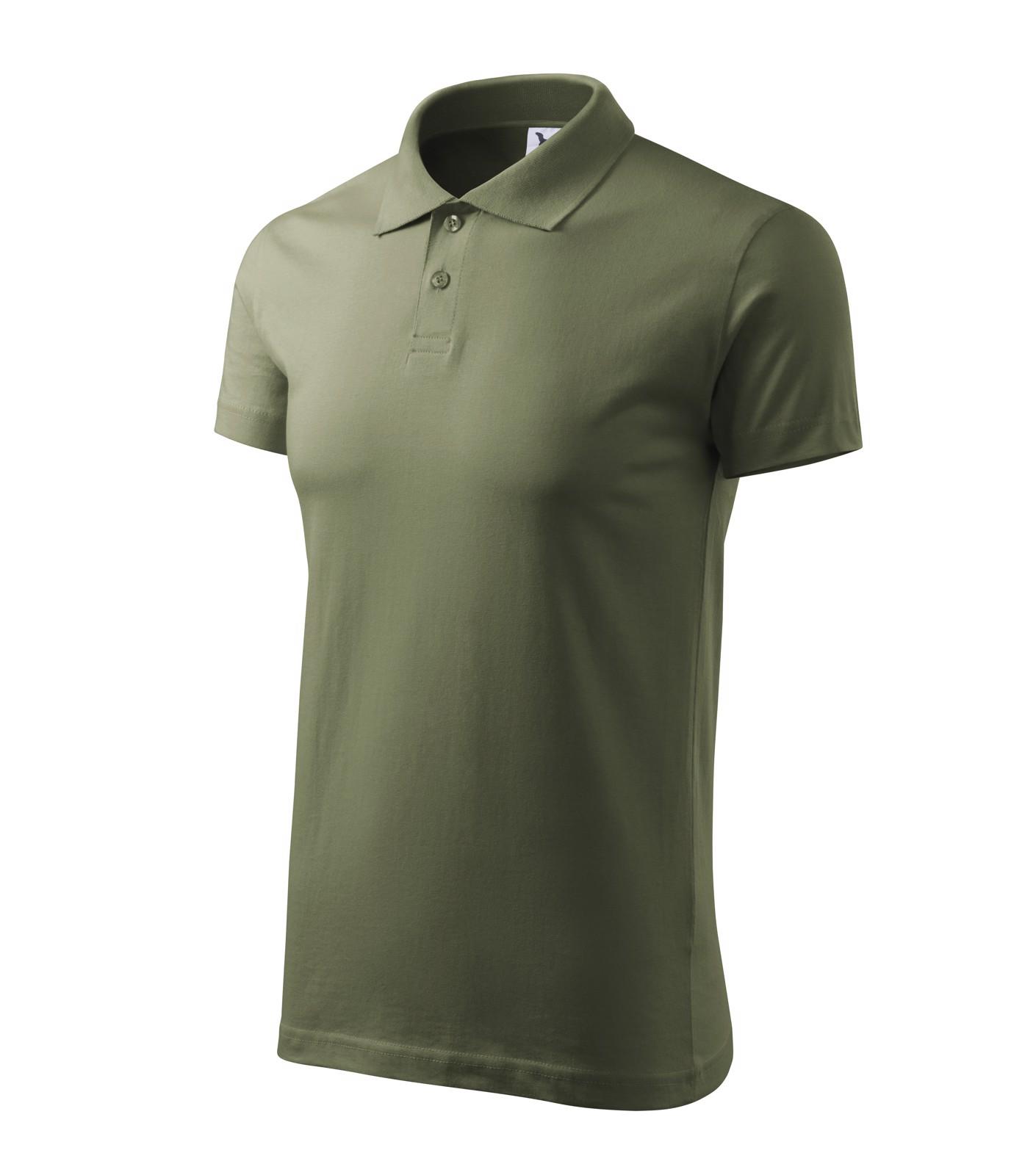 Polo Shirt men's Malfini Single J. - Khaki / L