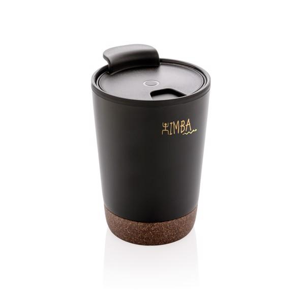 Parafa kávés ivópohár - Fekete