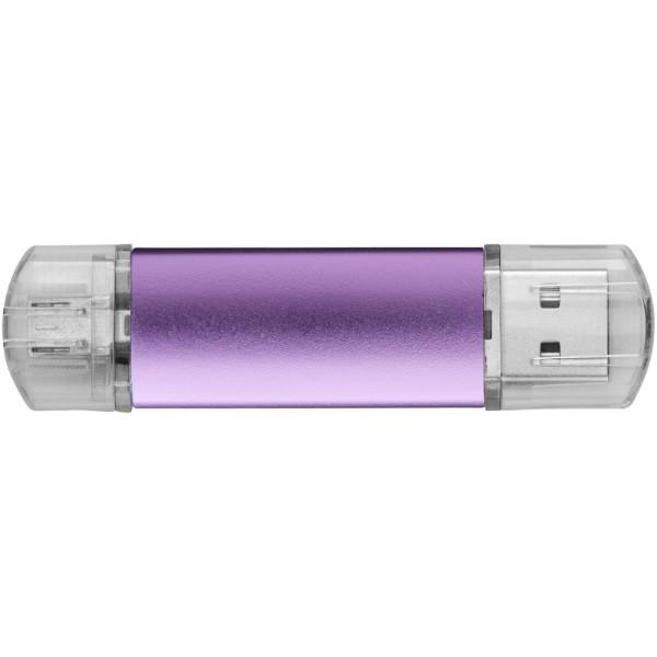 OTG USB Aluminium - Magenta / 8GB