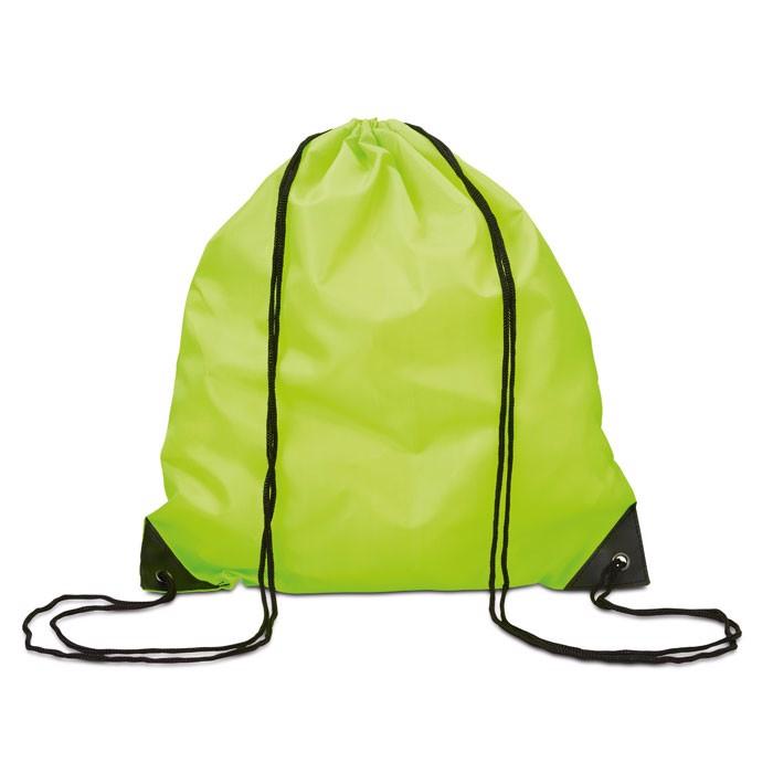 Drawstring backpack Shoop - Lime