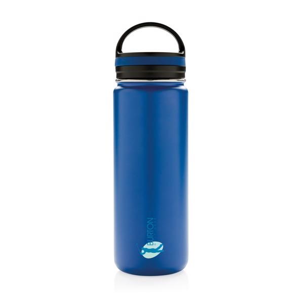 Nepropustná termo láhev se širokým hrdlem - Modrá