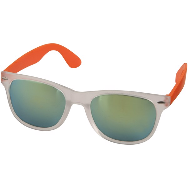 Sun Ray sunglasses with mirrored lenses - Orange