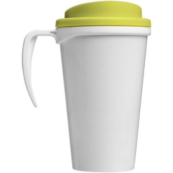 Brite-Americano® Vaso térmico grande de 350 ml - Blanco / Lima