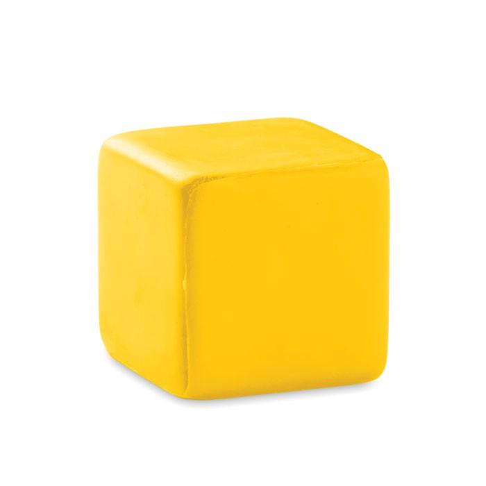 Antystres kwadrat Squarax - żółty