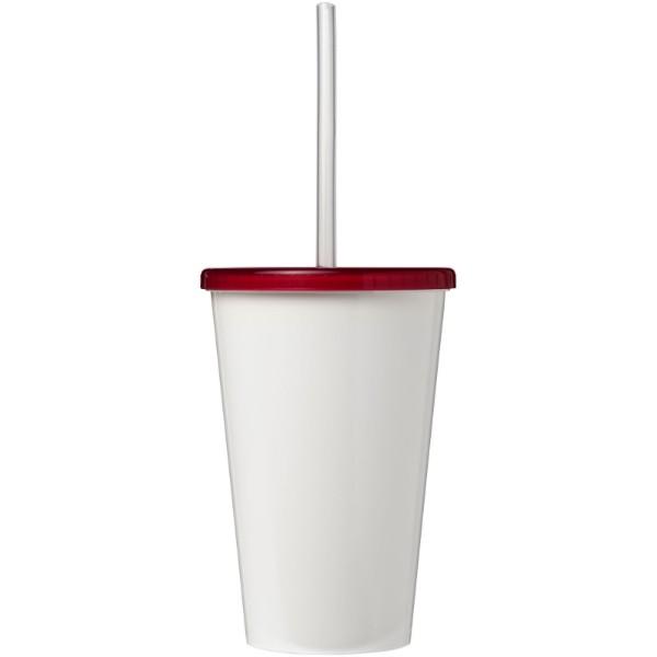 Brite-Americano® 350 ml double-walled stadium cup - Magenta