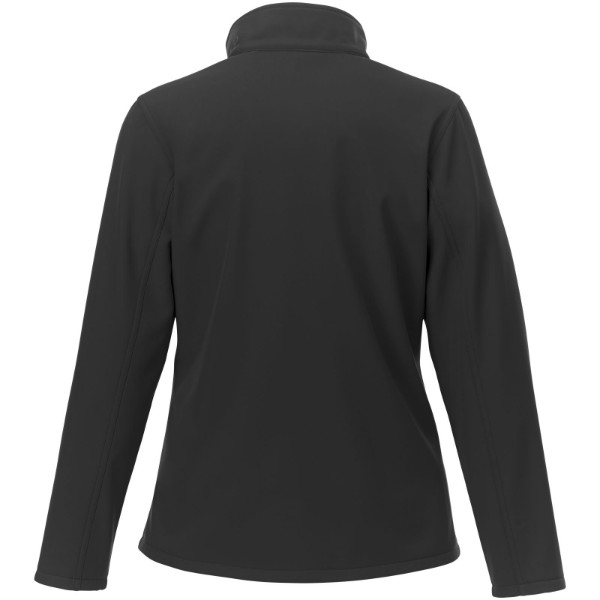 Orion women's softshell jacket - Solid Black / XL