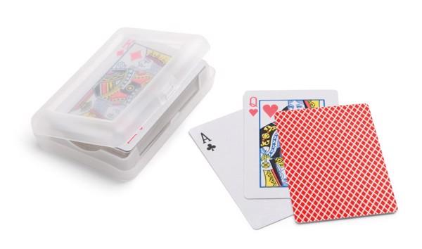 JOHAN. Baraja de 54 cartas - Rojo