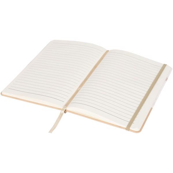 Marmurowy notatnik A5 Two-Tone - Brązowy